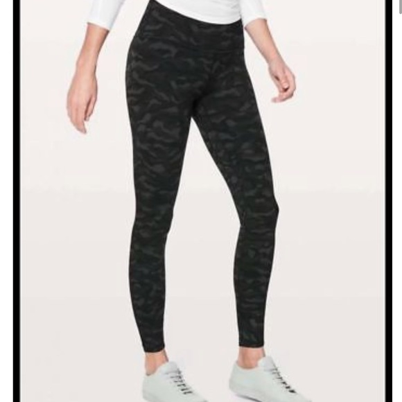2c4b5825d7 lululemon athletica Pants | Lululemon Align Pant Camo 78 Length ...